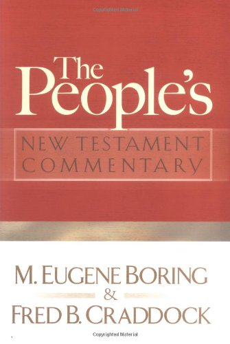 9780664227548: The People's New Testament Commentary