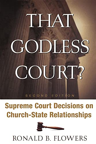 9780664228910: That Godless Court?, Second Edition: Supreme Court Decisions On Church-State Relationships