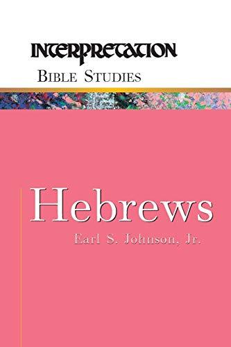 9780664231903: Hebrews (Interpretation Bible Studies)