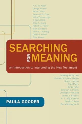 9780664231941: Searching for Meaning: An Introduction to Interpreting the New Testament
