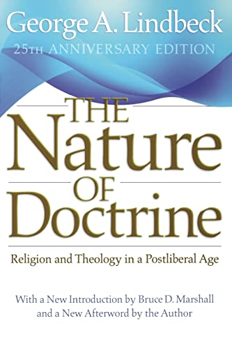9780664233358: The Nature of Doctrine: Religion and Theology in a Postliberal Age