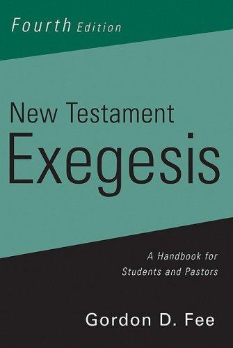 9780664233631: New Testament Exegesis