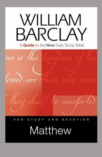 9780664234171: Matthew: A Guide to the New Daily Study Bible (Guides to the New Daily Study Bible)