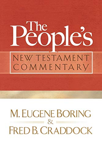 9780664235925: The People's New Testament Commentary