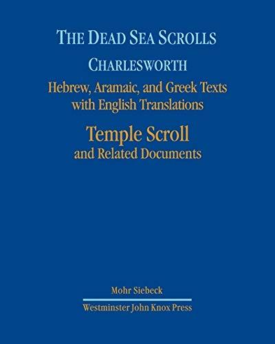 9780664238186: The Dead Sea Scrolls, Volume 7: The Temple Scroll