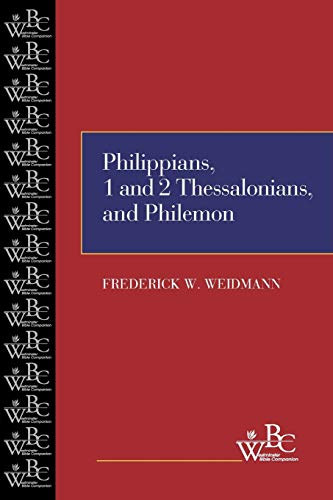 9780664238520: Philippians, First and Second Thessalonians, and Philemon (Westminster Bible Companion) (Westminster Bible Commentary)