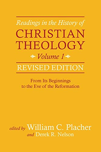 9780664239336: Readings in the History of Christian Theology, Volume 1, Revised Edition: From Its Beginnings to the Eve of the Reformation