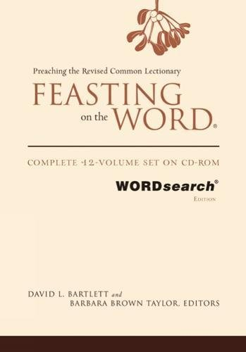 9780664239497: Feasting on the Word, WORDsearch edition: Complete 12-Volume Set on CD-ROM
