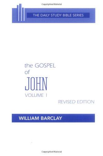 9780664241049: The Gospel of John, Vol. 1 (The Daily Study Bible Series)