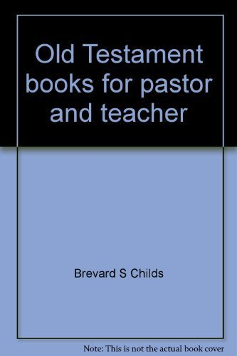 9780664241209: Old Testament books for pastor and teacher