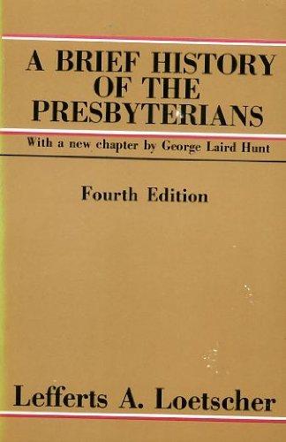 9780664241971: A brief history of the Presbyterians