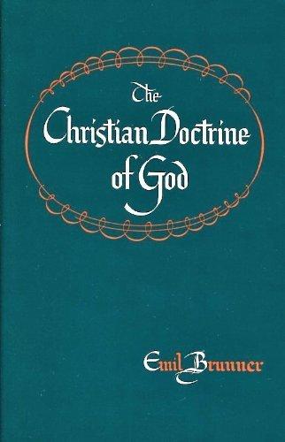 9780664243043: The Christian Doctrine of God: Dogmatics (Dogmatics Series)
