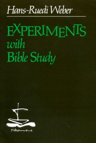 9780664244613: Experiments with Bible study