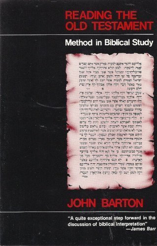 9780664245559: Reading the Old Testament: Method in Biblical Study