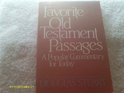 9780664246761: Favorite Old Testament Passages: A Popular Commentary for Today