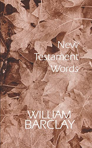 9780664247614: New Testament Words (The William Barclay Library)