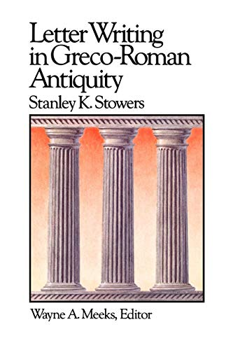 9780664250157: Letter Writing in Greco-Roman Antiquity