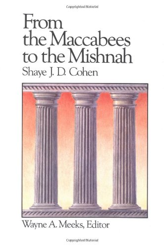 9780664250171: From the Maccabees to the Mishnah (Library of Early Christianity)