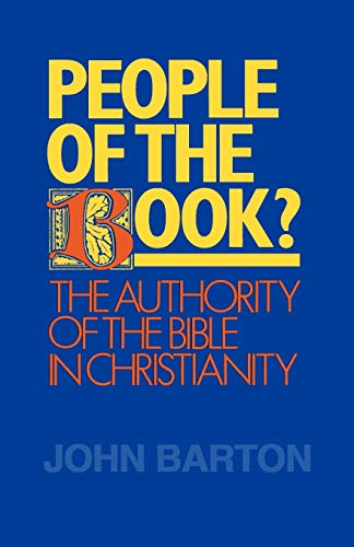 9780664250669: People of the Book?: The Authority of the Bible in Christianity