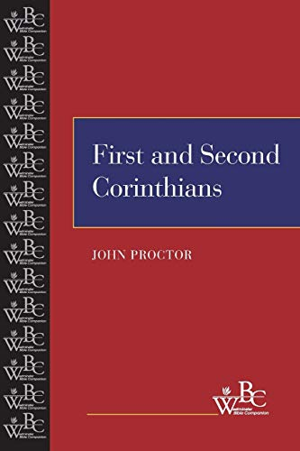 9780664252625: First and Second Corinthians (Westminster Bible Companion)