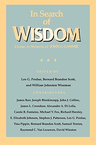 essay g gammie in in john memory search wisdom