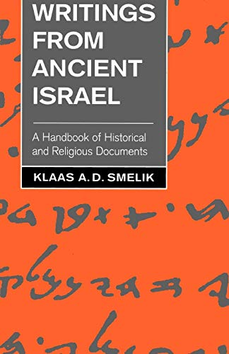 9780664253080: Writings from Ancient Israel: A Handbook of Historical and Religious Documents