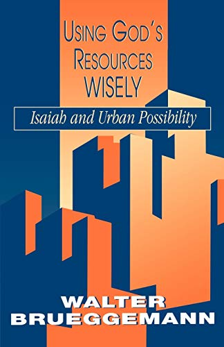 9780664254605: Using God's Resources Wisely: Isaiah and Urban Possibility