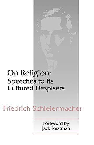 9780664255565: On Religion: Speeches to Its Cultured Despisers
