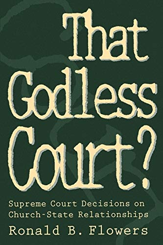 9780664255626: That Godless Court?