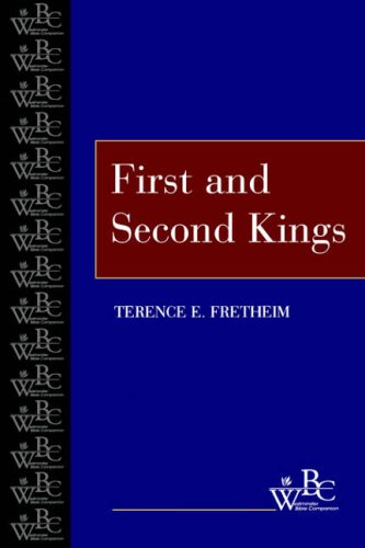 9780664255657: First and Second Kings (Wbc) (Westminster Bible Companion)