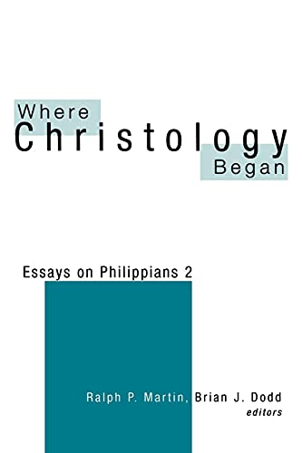 9780664256197: Where Christology Began: Essays on Philippians 2