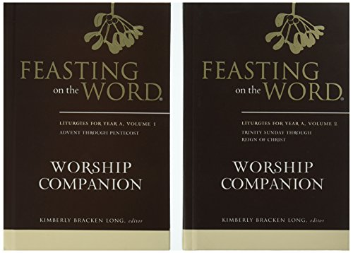 9780664261931: Feasting on the Word Worship Companion, Year A - Two-Volume Set