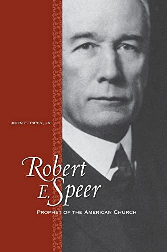 9780664503109: Robert E. Speer