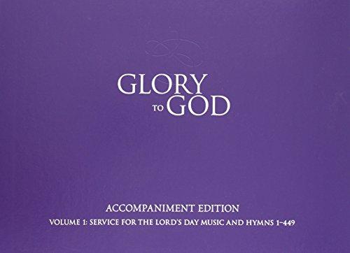 9780664503215: Glory to God (Purple Accompaniment Edition)