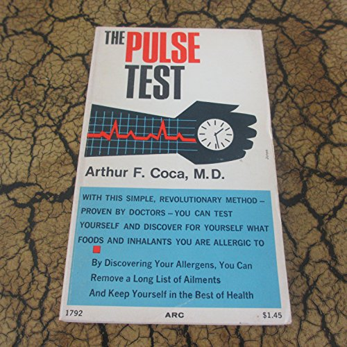 9780668017923: The pulse test: Easy allergy detection