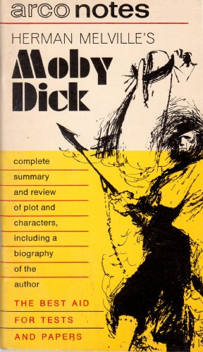 9780668019903: Herman Melville's Moby Dick, (Arco notes)