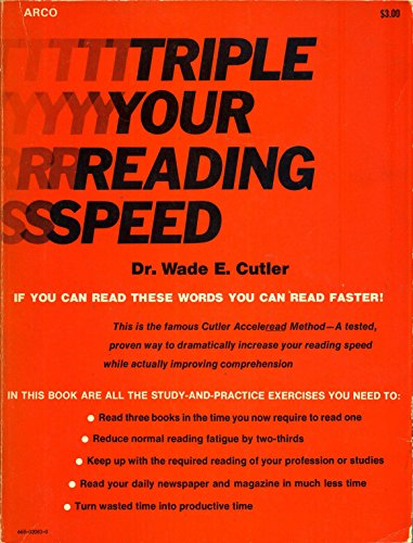 9780668020831: Triple Your Reading Speed