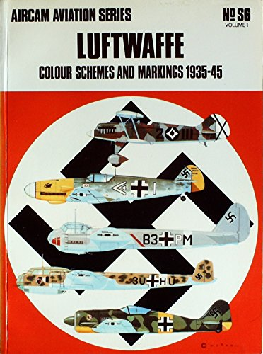 9780668023078: Luftwaffe: Colour schemes and markings 1935-45