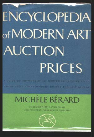 Encyclopedia Of Modern Art Auction Prices.: Berard, Michele.