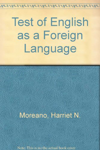 9780668029452: Test of English as a Foreign Language