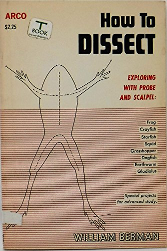 9780668032445: How to Dissect