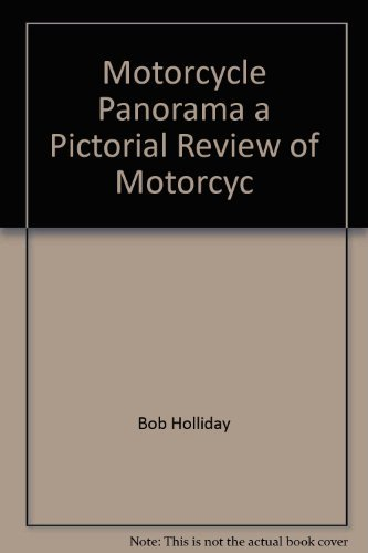 9780668036474: Motorcycle Panorama a Pictorial Review of Motorcyc