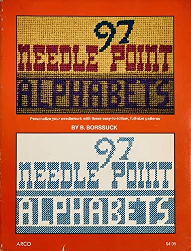 9780668036559: Ninety Seven Needlepoint Alphabets