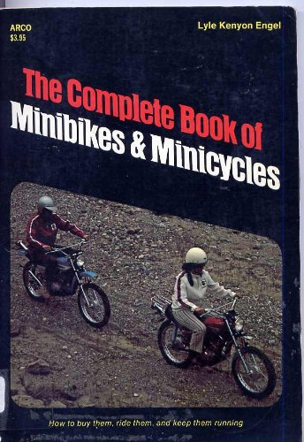 9780668037853: The complete book of minibikes & minicycles