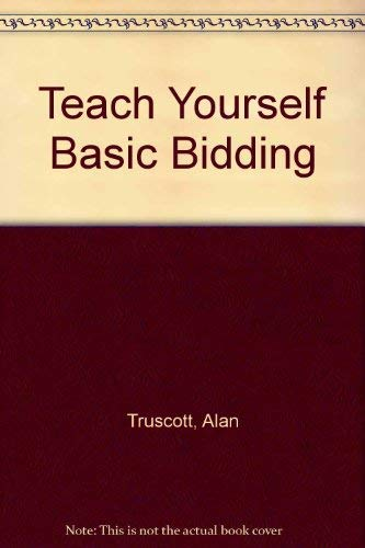 9780668038362: Teach Yourself Basic Bidding