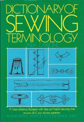 9780668040396: Dictionary of Sewing Terminology