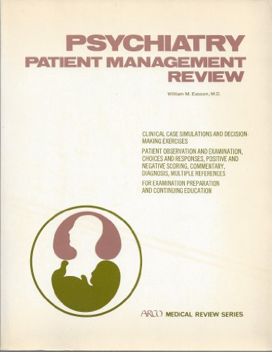 9780668040587: Psychiatry: Patient management review (Arco medical review series)