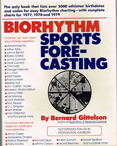 9780668041454: Biorhythm sports forecasting