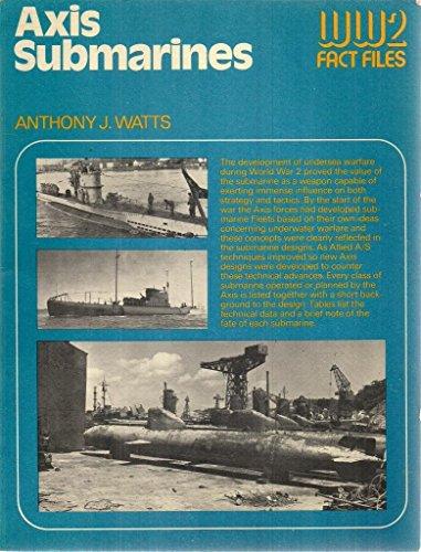 9780668041591: Axis submarines (World War 2 fact files)