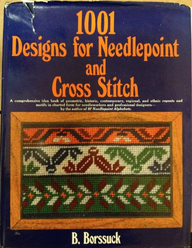 9780668042147: 1001 Designs for Needlepoint and Cross Stitch